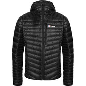 Berghaus Extrem Micro 2.0 Manteau en duvet Homme, jet black/grey pinstripe